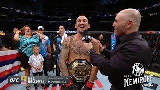 UFC 240׃ Холлоуэй vs Эдгар - Слова после боя