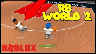 TOOK HIS ANKLES!! | ROBLOX RB WORLD 2 BETA | INTENSE 1V1 | iBeMaine