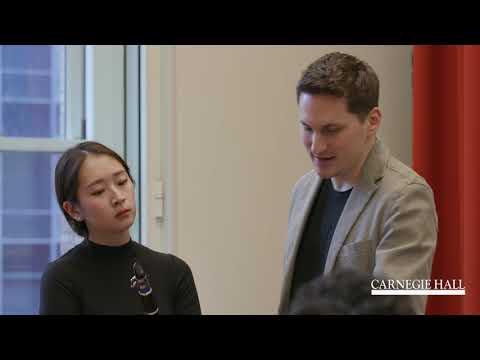 Clarinet Master Class with Daniel Ottensamer: Schumann's Fantasiestücke