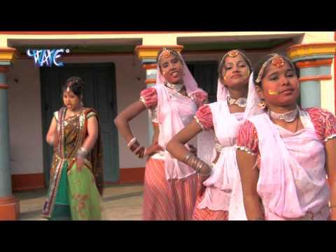 जीजा देदा लहंगा में रंगवा -  Holi Songs Rang barse Bhige Chunar Wali | Anu Dubey Holi 2014