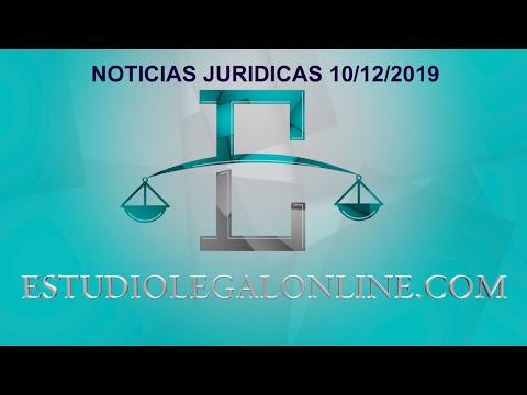 Comentarios Noticias Estudiolegal 10/12/2019 www.estudiolegalonline.com