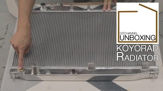 KOYORAD Radiator - GTChannel Unboxing Episode 4