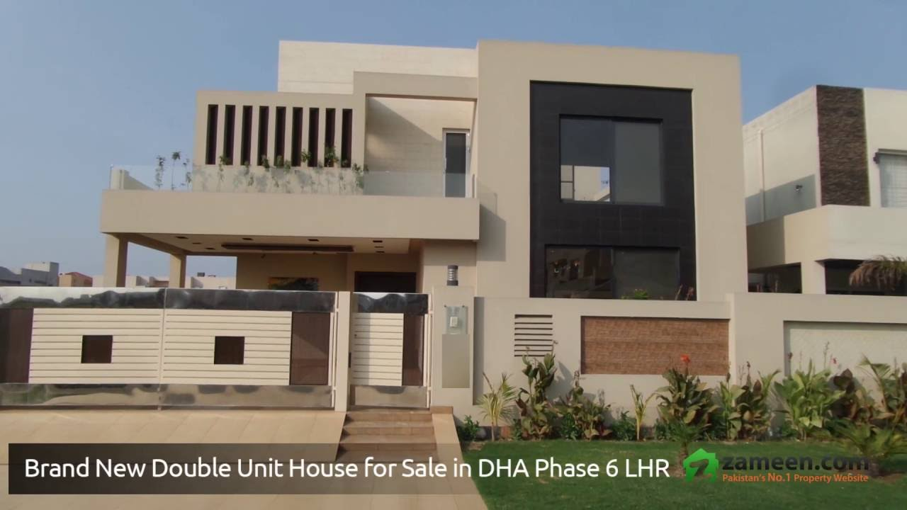 8 Marla Home Front Elevation : A beautiful kanal house for sale in dha phase lahore