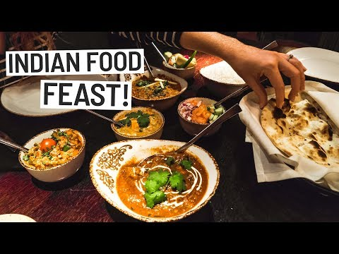 Huge Indian Food FEAST! + Off-roading with Land Rover! (Birmingham, England)
