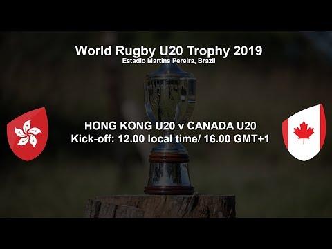 World Rugby U20 Trophy 2019 - Hong Kong U20 v Canada U20