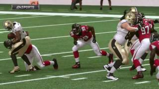 NFL Week 17 - New Orleans Saints vs Atlanta Falcons - Full Game - Simulation Nation