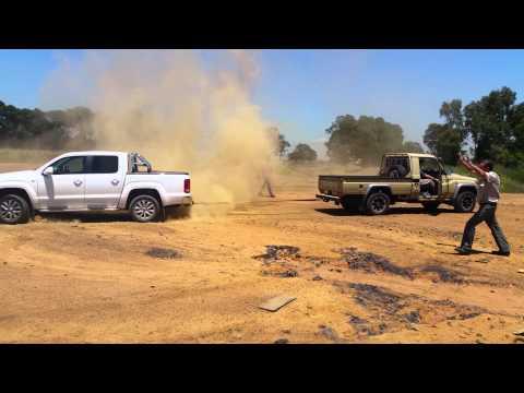 Land Cruiser Vs Amarok Youtube