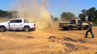 Land-Cruiser vs Amarok
