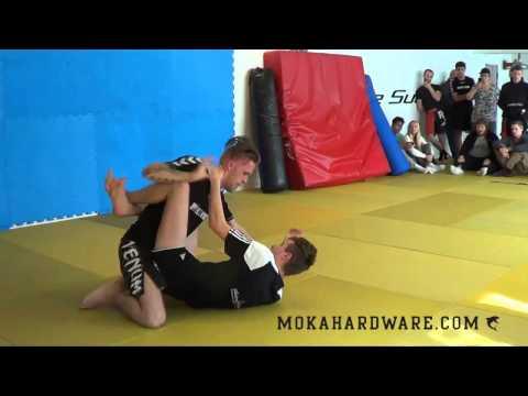 DGL 2 Runden 2015 Lasse Hansen Mikenta vs Lucas Johan Boesen Renegade MMA