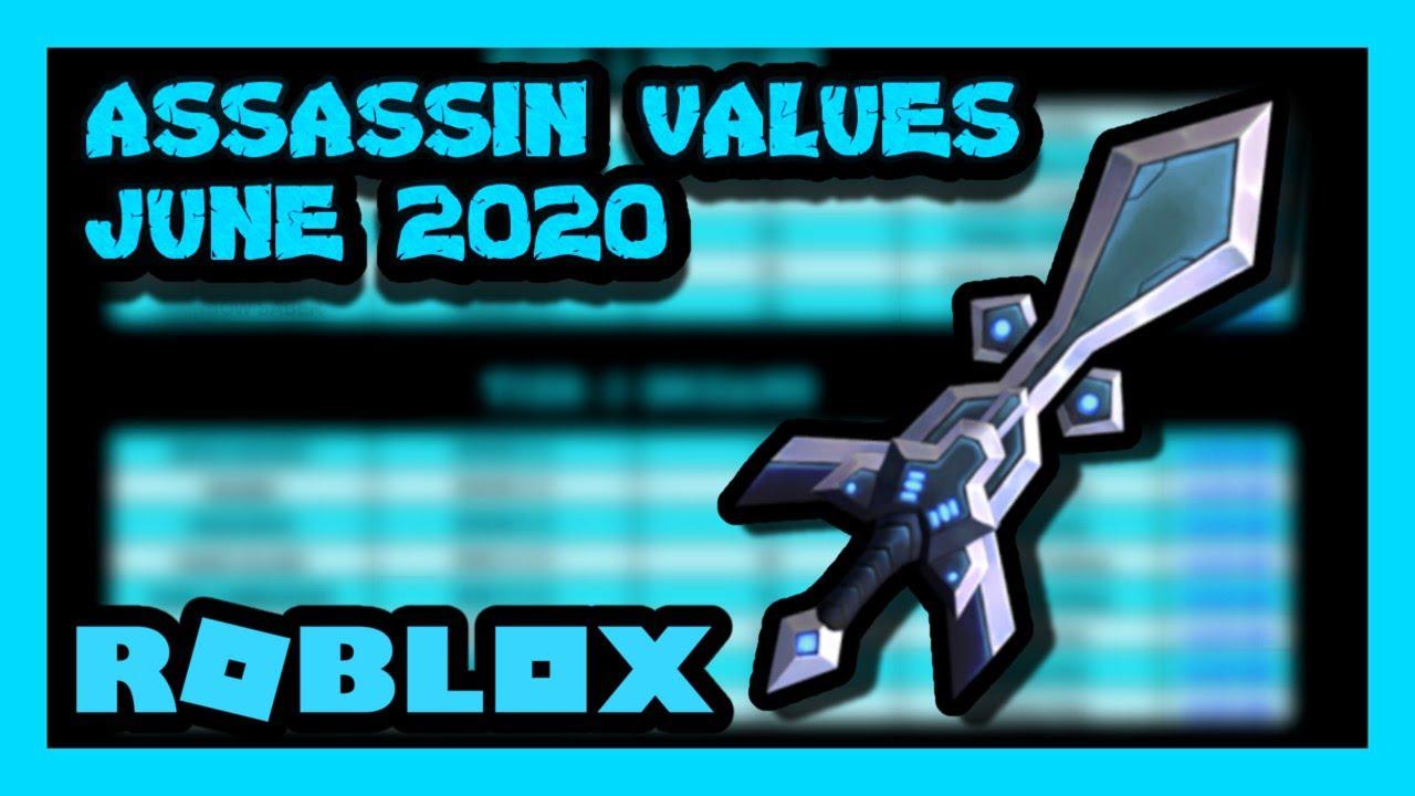 Roblox Assassin Value List June 2020 Zickoi Youtube
