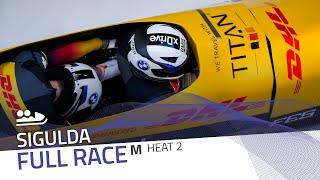 Sigulda | BMW IBSF World Cup 2020/2021 - 2-Man Bobsleigh Race 2 (Heat 2) | IBSF Official