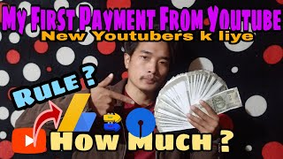 My First Payment From YouTube | Youtube Earning | Viral 🔥 Abraham Goi | My first earning YouTube 💸💸💸