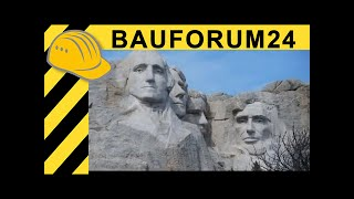 Mount Rushmore - Documentary & Interview with Park Ranger - Bauforum24 Heavy Equipment Calendar 2011