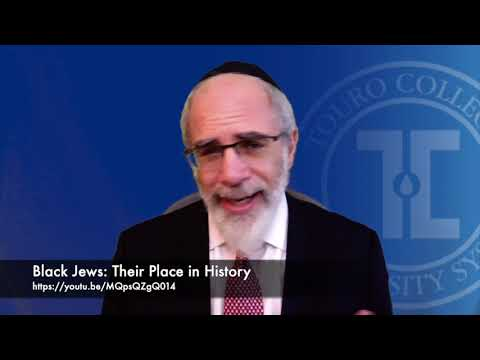 Black Jews: Their Place In History. Conversation With Nissim Black, Today At 1pm EDT