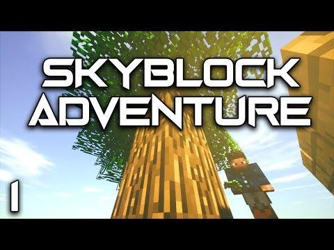 Skyblock Adventures EP1 Ex Nihilo Infinite Water Setup