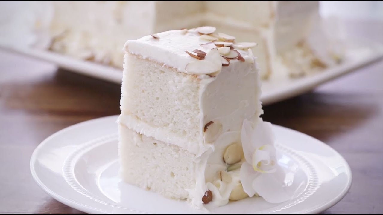 Almond Wedding Cake All Recipes