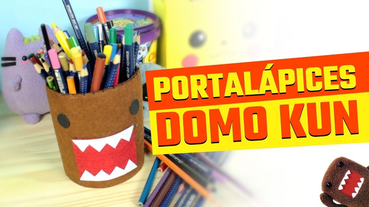 Organizador de cart n portal pices domo kun con material for Domo arreda facile