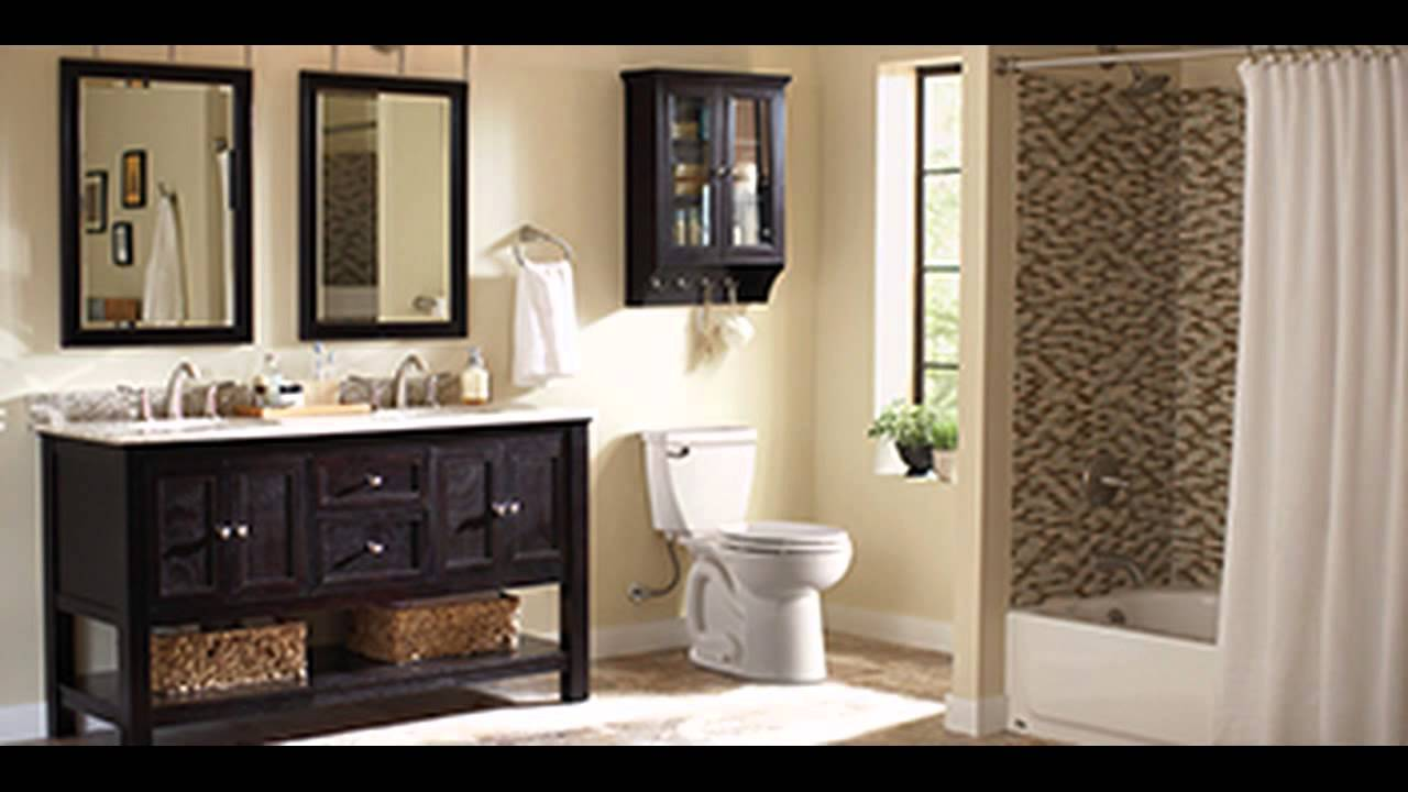 home depot bathroom remodel - youtube