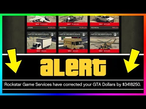 Rockstar Might Give You FREE Money In GTA Online If You Own These Cars & Vehicles!