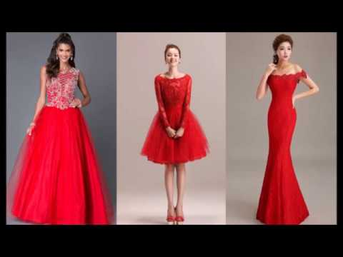 special-red-dress-for-chirstmas-party  -fashion-butterfly