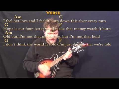 Counting Stars - Mandolin Cover Lesson in Am with Chords/Lyrics ...