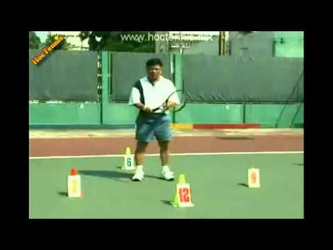 Học Tennis - Thuận tay - Hoctennis.net - 0963.221.048