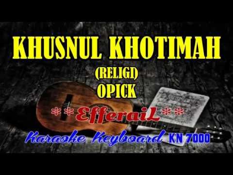 Asmat  KHUSNUL KHOTIMAH KARAOKE