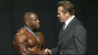Johnnie O. Jackson Posing Arnold Classic 2017 South Africa - First place