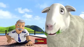 Fireman Sam US ⭐️ Sheep in the Streets! | Best Rescue Compilation 🔥Kids Movie