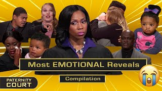 Paternity Court's Most EMOTIONAL Reveals (Pt. I)   25-Minute Compilation   Paternity Court