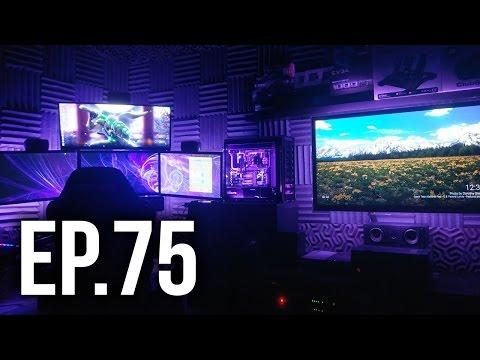 Room Tour Project 75 - Best Gaming Setups!