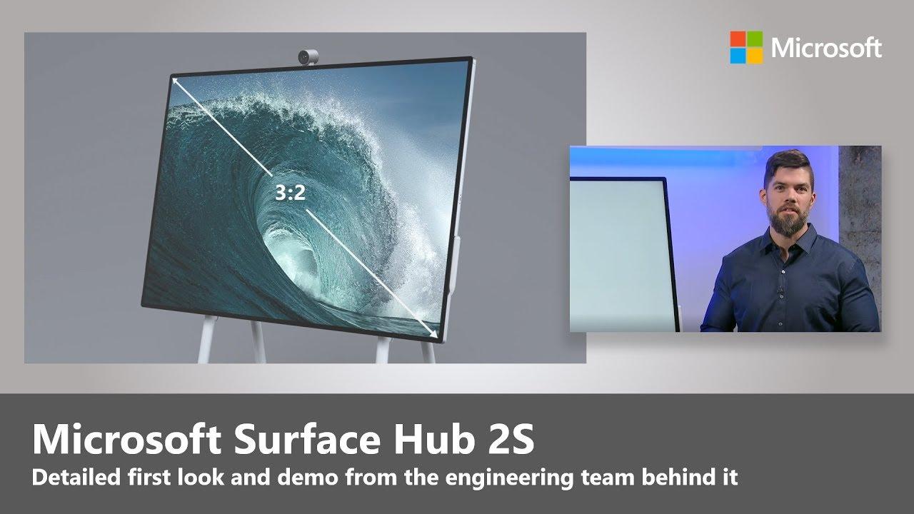 Microsoft's Surface Hub 2S starts at $8,999, ships in June