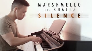 Marshmello ft. Khalid - Silence (piano cover by Ducci)