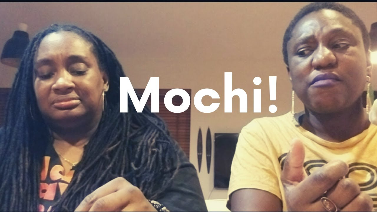 "Kat & Amber Try ""Mochi"""