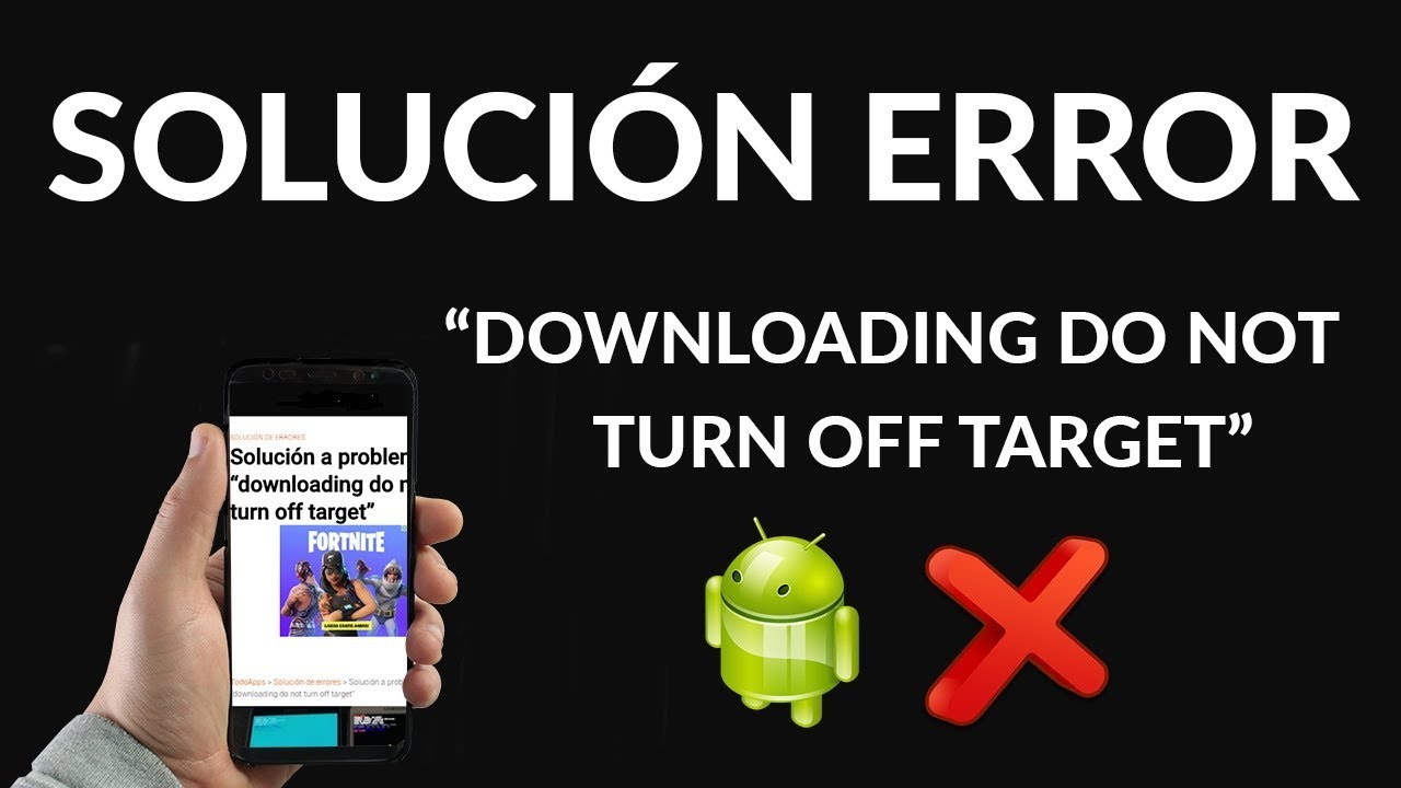 Downloading Do Not Turn Off Target Samsung S7