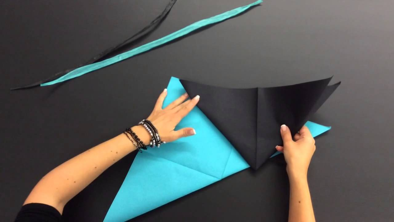 Pliage de serviette mode youtube - Pliage de serviette en papier pour noel facile ...