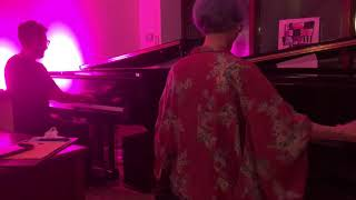 Improvised piano duet: Erica Corbo and Ben Rosen