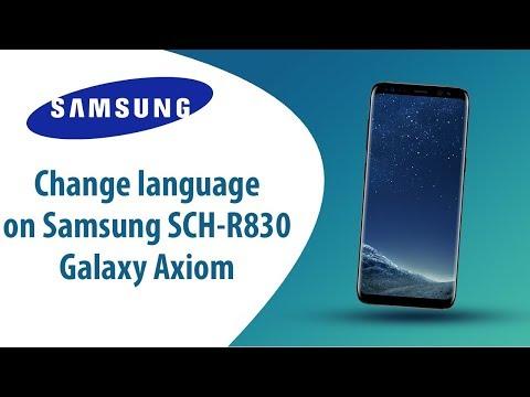 Samsung Galaxy Axiom Video clips - PhoneArena