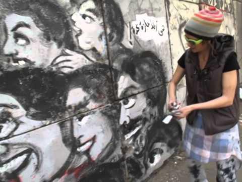 CIRCLE OF HELL - Mira Shihadeh makes street art in Cairo