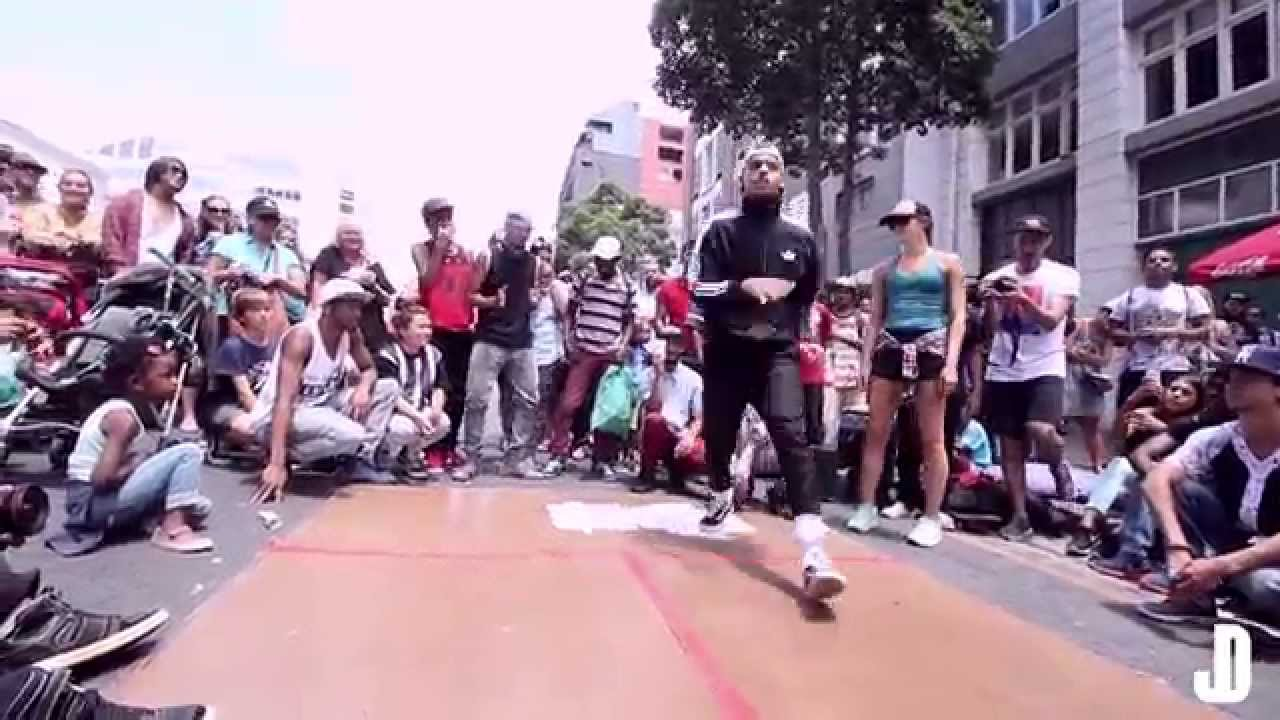 Kori Clarke Freestyle @ iRok the street dance session ...