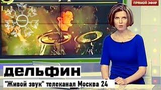 """Дельфин   """"Живой звук"""" - Москва 24"""