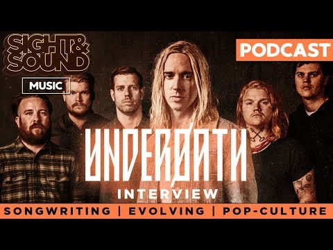 Underoath on Songwriting, Evolving, Avengers: Infinity War, & More | Sight & Sound Music