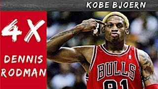 Die 4 Stufen des Dennis Rodman - Kobe Bjoern