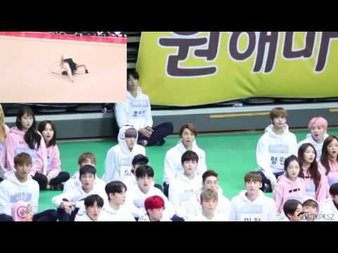 chengxiao rhythmic gymnast full reaction (nct seventeen monstax gugudan)