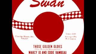 THOSE GOLDEN OLDIES, Marcy Jo & Eddie Rambeau, SWAN #4136  1963