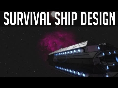 Survival Series Large Ship Design! (Space Engineers)