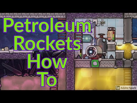 Petroleum Rocket How to : Tutorial nuggets : Oxygen not included
