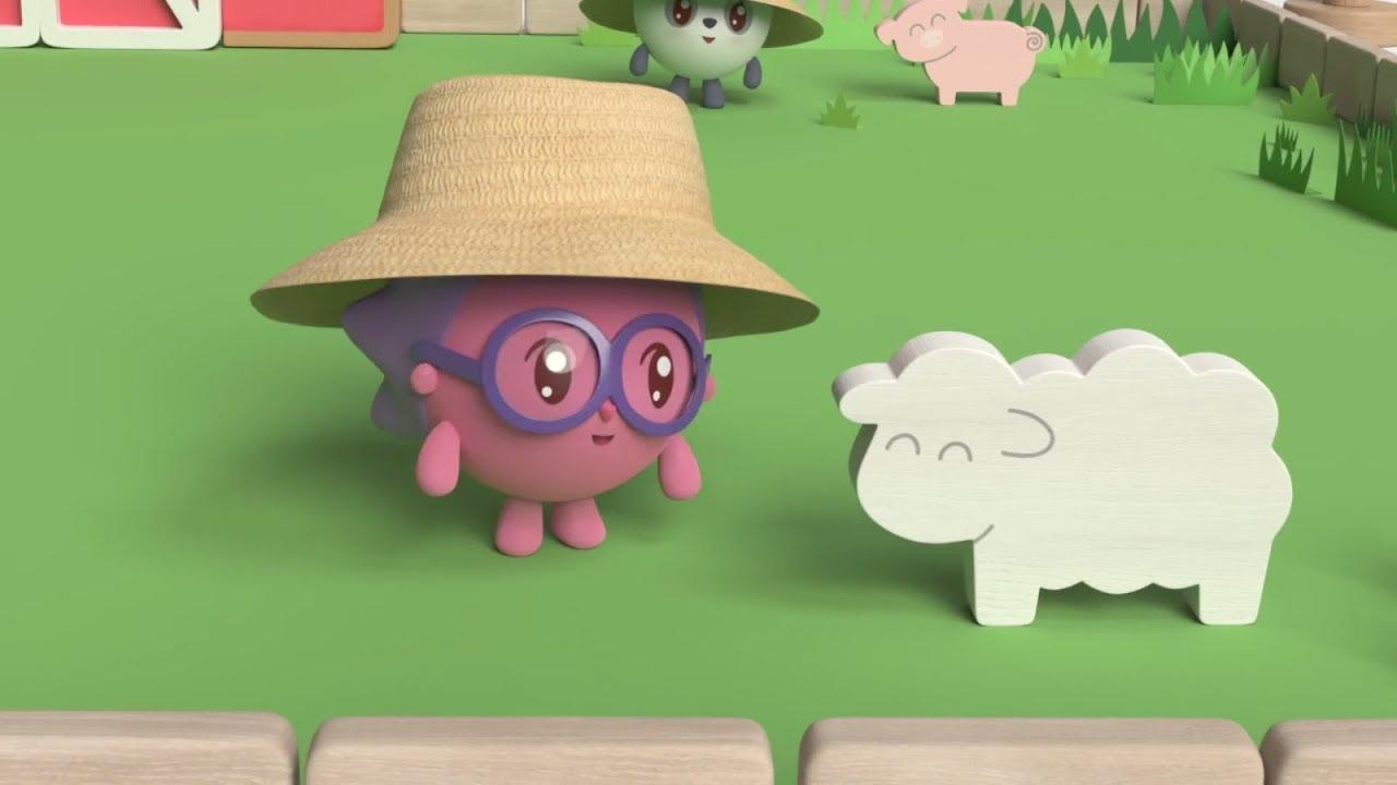 Малышарики - «Ферма» Песенка для малышей