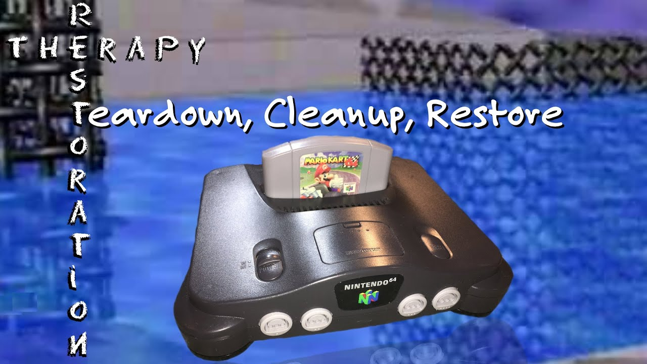 Nintendo 64 - Teardown, Cleanup, Restore