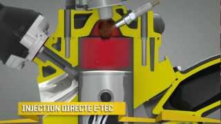 Ski-Doo Moteur Rotax E-TEC